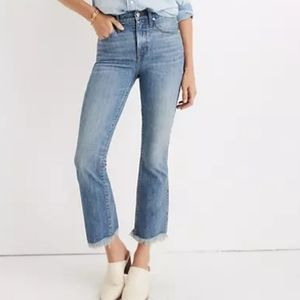 Madewell Cali Demi-Boot Comfort Stretch Jeans